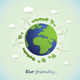 Save The World - Environmentally Friendly Planet Stock Images