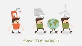 Save the world Royalty Free Stock Photography