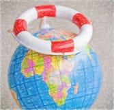 Save-the-world - illustration based on own photo image Royalty Free Stock Photography