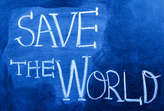 Save The World Royalty Free Stock Images