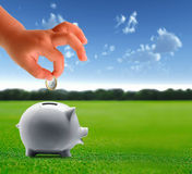 Save your money Royalty Free Stock Photo