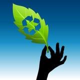 Save zieloną energię   Fotografia Royalty Free