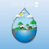 Save zieloną ziemię Fotografia Stock