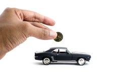 Saveing für das fiucture Auto Lizenzfreies Stockbild