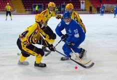 Saveliev Dmitry in action Stock Photo