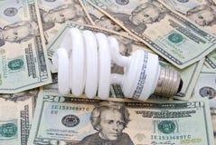 Saves money Stock Image