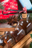 Saveurs de Noël pour les pâtisseries délicieuses image libre de droits