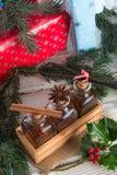 Saveurs de Noël pour les pâtisseries délicieuses image stock