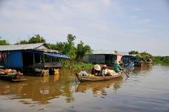 Savia de Tonle del lago en Camboya Foto de archivo