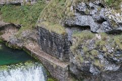 Savica瀑布,斯洛文尼亚 免版税库存图片