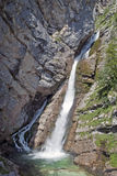 Savica vattenfall Arkivfoton