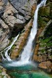 Savica waterfall Stock Photography