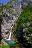 Savica waterfall Stock Image