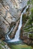 Savica waterfall, Bohinj, Slovenia Stock Photography