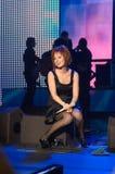savicheva της Julia Μόσχα συναυλίας στοκ φωτογραφίες