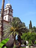 Savina Monastery, Montenegro, costruzioni di chiesa ortodossa serbe fotografie stock libere da diritti