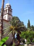 Savina Monastery Montenegro, serbiska ortodoxa kyrkliga byggnader royaltyfria foton