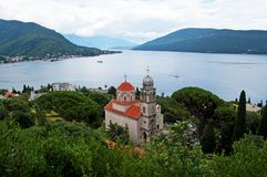 Savina Monastery is a Serb Orthodox monastery. Near the city Herceg Novi, Montenegro. Probably comes from the 1030 year, although the oldest record in which the Royalty Free Stock Images