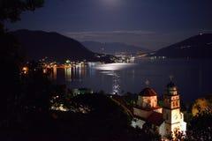 Savina monestry la nuit Photographie stock libre de droits