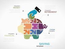 saving Imagens de Stock Royalty Free