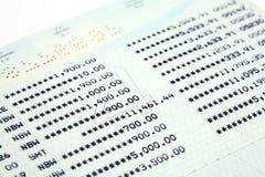Saving Accounts Stock Photo