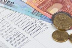 Saving bank passbook Royalty Free Stock Photos