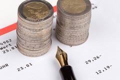 Saving bank passbook Royalty Free Stock Photo
