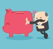 Saving. Business Concept Illustration. Eps.10 Stock Image