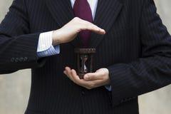 Saving businesstime Royalty Free Stock Images