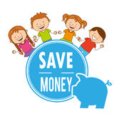 Saving children Royalty Free Stock Photography