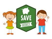Saving children Royalty Free Stock Images