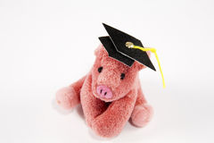 Saving for college Royalty Free Stock Images