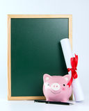 Saving for college concept Stock Image