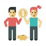Saving Couple Stock Photos