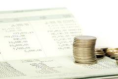 Saving deposit passbook Stock Photos