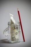Saving dollar Royalty Free Stock Photography
