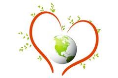 Saving earth Royalty Free Stock Photography