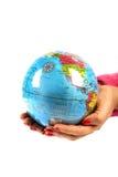 Saving earth Stock Photography