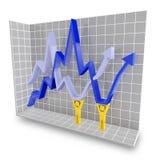 Saving the economy concept Stock Photo