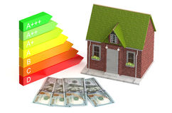 Saving and economy energy Royalty Free Stock Image