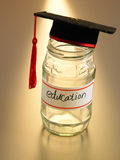 Saving for education Royalty Free Stock Photo