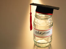 Saving for education Royalty Free Stock Photography