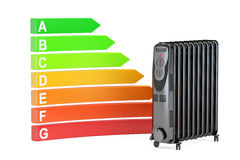 Saving energy consumption concept. Energy efficiency chart with Royalty Free Stock Image