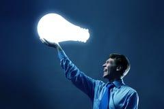 Saving energy Royalty Free Stock Photos