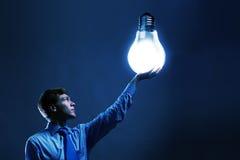 Saving energy Royalty Free Stock Image