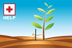 Saving Environment 1. This illustration speak about Royalty Free Stock Photos