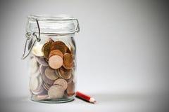 Saving Euro Stock Images