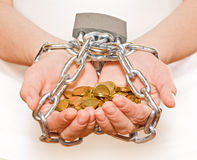 Saving every penny - CONTEST stock images
