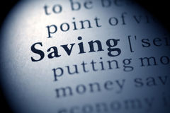 Saving Stock Photography