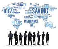 Saving Finance Global Finance World Economy Concept Stock Image